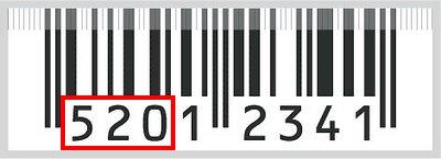 bar code 520